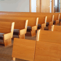 Gunder Solid Wood Pews