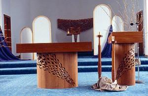 Altar Ambo Gunder Church Furniture